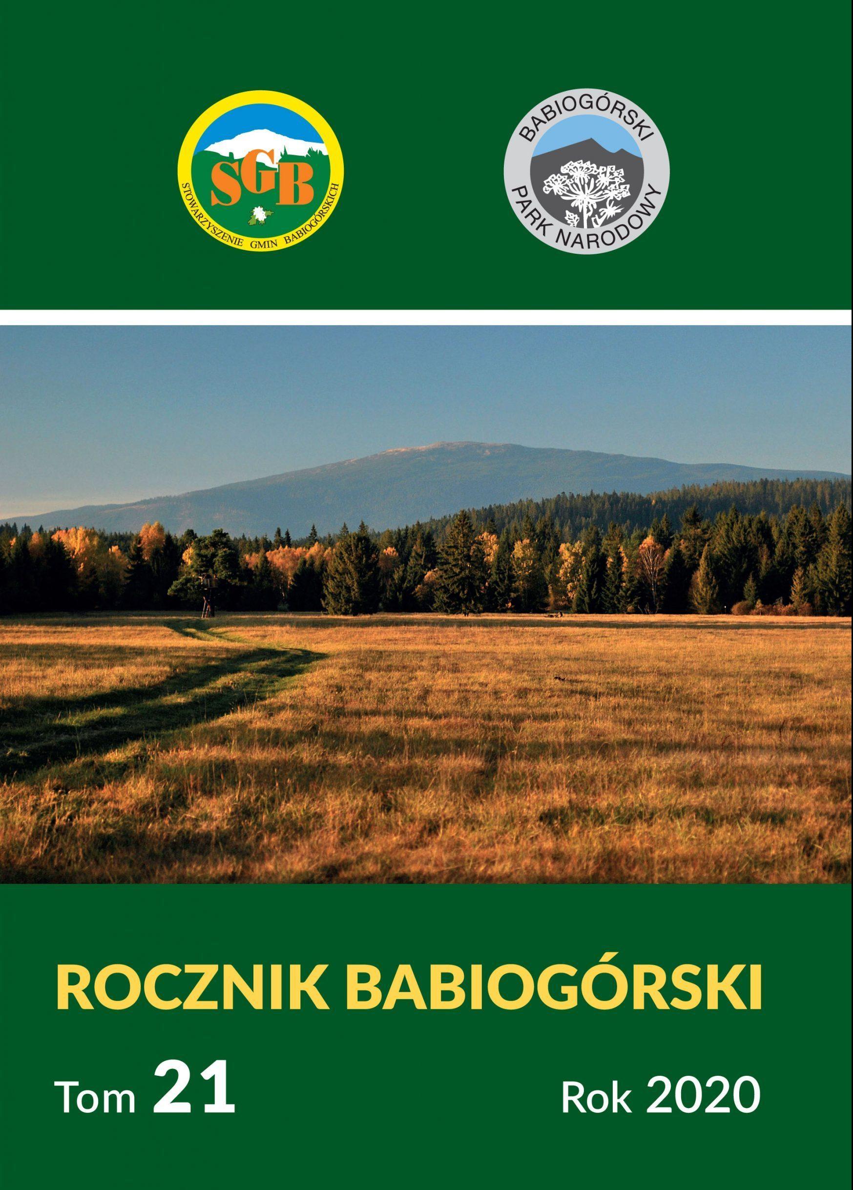 Rocznik Babiogórski Tom 21 (2020)