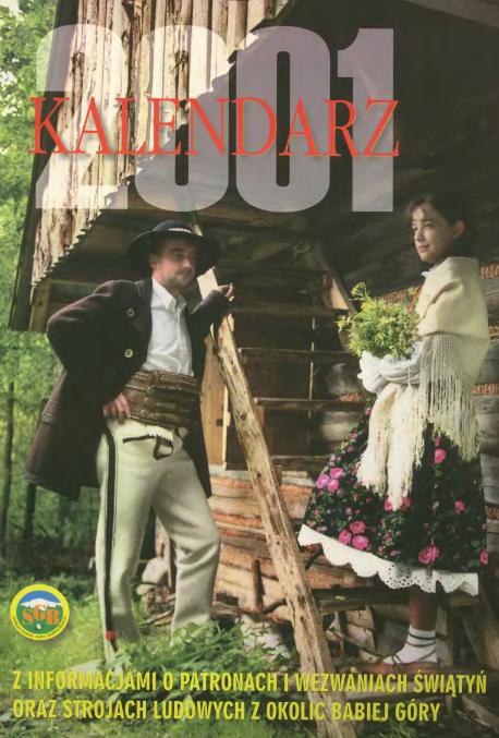 Kalendarz na rok 2001