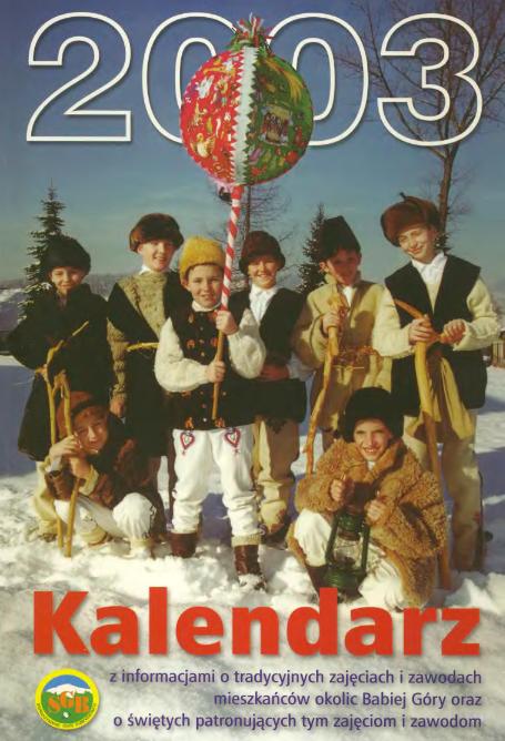 Kalendarz na rok 2003
