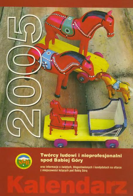 Kalendarz na rok 2005