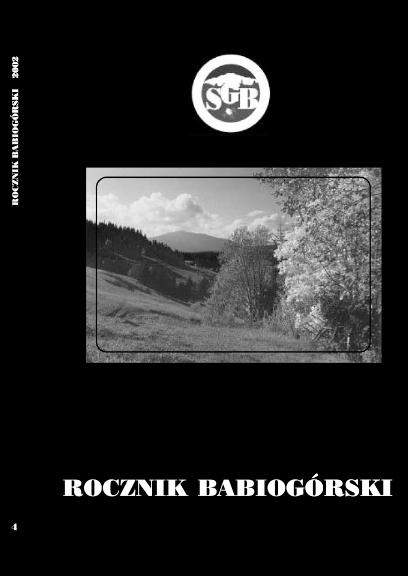 Rocznik Babiogórski Tom 4 (2002)