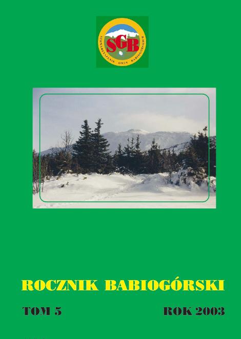 Rocznik Babiogórski Tom 5 (2003)