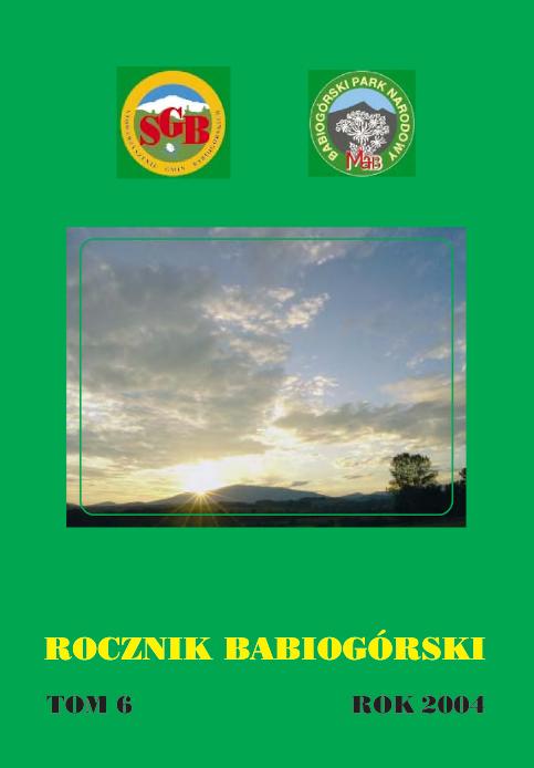Rocznik Babiogórski Tom 6 (2004)
