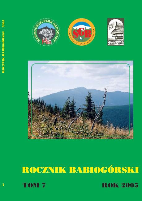 Rocznik Babiogórski Tom 7 (2005)