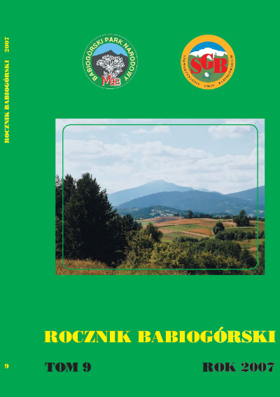 Rocznik Babiogórski Tom 9 (2007)