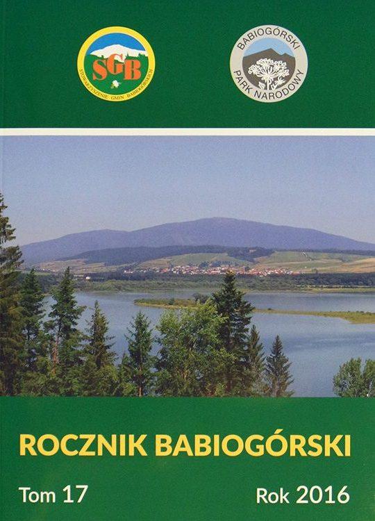 Rocznik Babiogórski Tom 17 (2016)