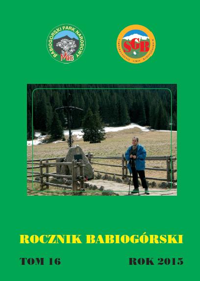 Rocznik Babiogórski Tom 16 (2015)