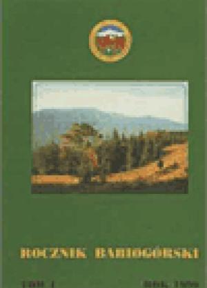 Rocznik Babiogórski Tom 1 (1999)